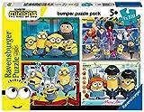 Ravensburger Puzzle, Minions, 4 Puzzle de 100 Piezas, Bumper Pack, Puzzles para Niños, Edad Recomendada 5+, Rompecabeza de Calidad