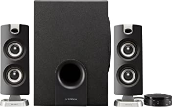 Insignia NS-PSB4721 – 2.1 Bluetooth Speaker System (3-Piece) – Black