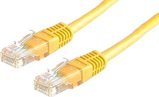 Rotronic 21.99.1522 cavo di rete 0,5 m Cat6 U/FTP (STP) Giallo