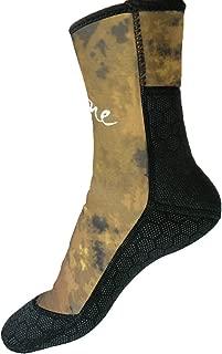 Layatone Diving Socks Adults 3mm Neoprene Socks Boots Surfing Swimming Beach Water Wetsuit Socks Boots Non-Silp Spearfishing Boots Shoes Socks Men Women