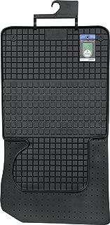 E39 Negro Goma yorten 4 Piezas Juego de Alfombrillas Alfombrillas Coche Goma Superficie Antideslizante para BMW 5 Series