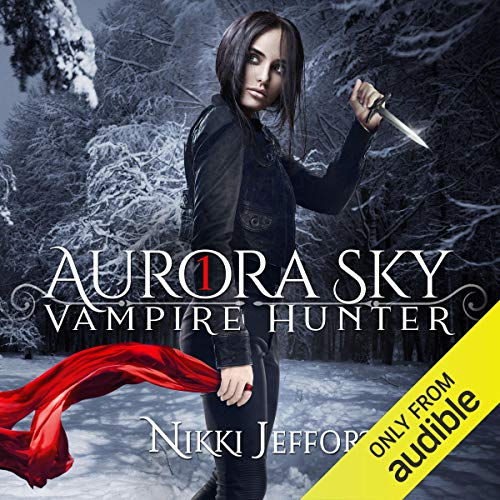 Aurora Sky audiobook cover art