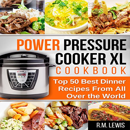Power Pressure Cooker XL Cookbook audiobook cover art