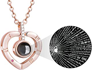 100 Languages I Love You Necklace Loving Memory...