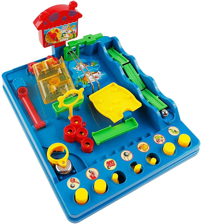Byx- Giocattoli - 3D Tridimensionale Labirinto Giocattolo 6 Anni Mas o e Femmina bambino Rush per  udere la Ptuttia Btutti Balance Bead Puzzle gioco - Puzzle classe giocattoli -Giocattoli