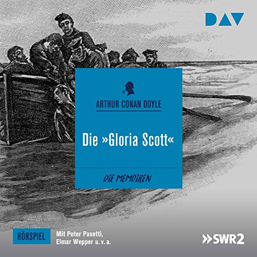 "Die ""Gloria Scott"" audiobook cover art"