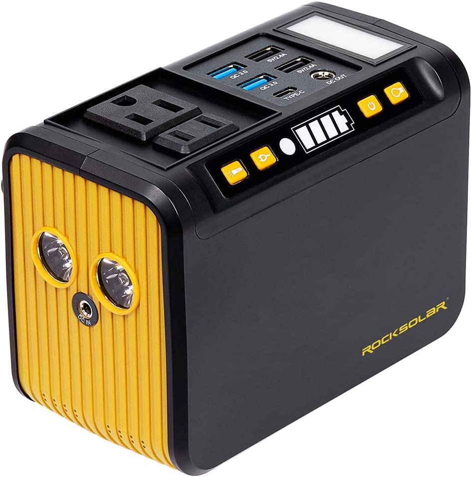 ROCKSOLAR Weekender ☆送料無料☆ 当日発送可能 RS81 80W PEAK Station Power 120W 受注生産品 Portable