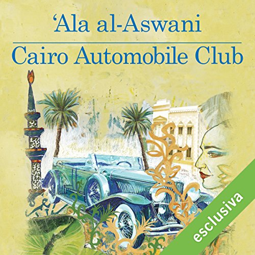 Cairo automobile club audiobook cover art