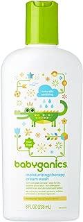 Babyganics Moisturizing Therapy Cream Wash, 8oz, Packaging May Vary