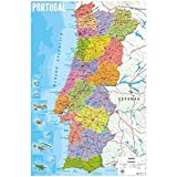 Erik discverlag Group der 4799–Portugal Karte Poster,
