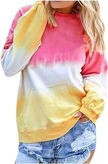 Fashion Women's Casual Coat Shirt Long Sleeve Pullover Sweatshirt Pocket Tops
