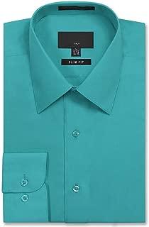 JD Apparel Men's Slim Fit Dress Shirts