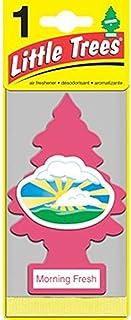 Little Trees Paper Morning Fresh Car Air Freshener, Pink, U1P-10228