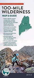 100-Mile Wilderness Map & Guide (Appalachian Mountain Club)