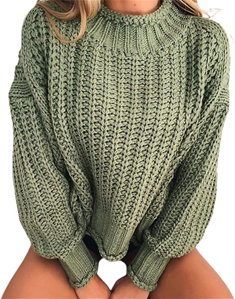 Women Loose Autumn Sweater Collar Knitted Sweaters Cropped e Girl