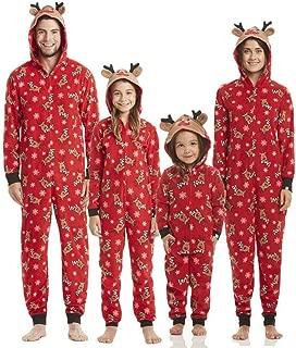 Yoolune 2019 Familie Weihnachten Pyjamas Set Familie passende Kleidung Weihnachten Kleidung Erwachsene Kinder Pyjamas Baby Strampler Nachtw/äsche