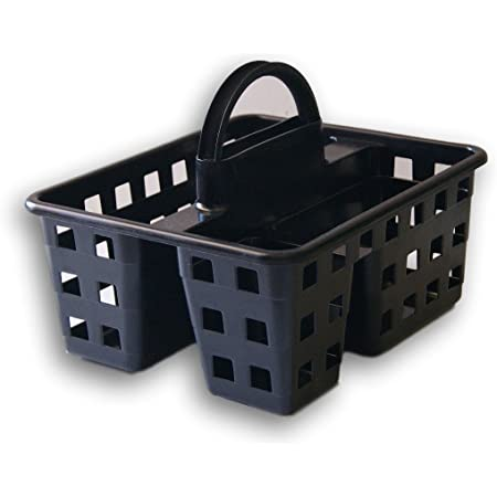 Mainstay Small Utility Shower Caddy Tote (Black)