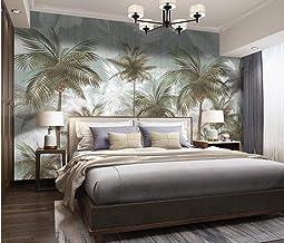 Papel Pintado Art Foto Mural Planta De Hojas Tropicales Retro Verde Papel Tapiz Fotográfico Murales Grandes Sofá Dormitori...