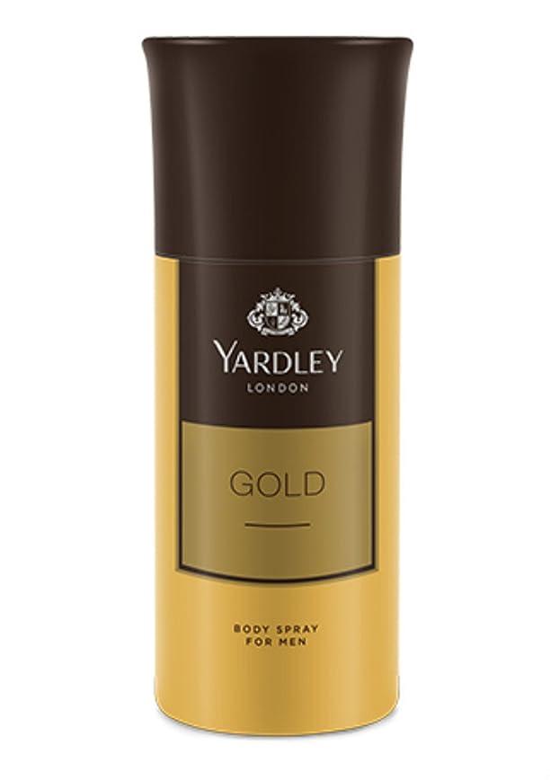 同一の修士号コーナーYardley London Gold Body Spray For Men (5 ounce)