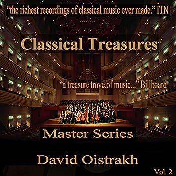 Classical Treasures Master Series - David Oistrakh, Vol. 2