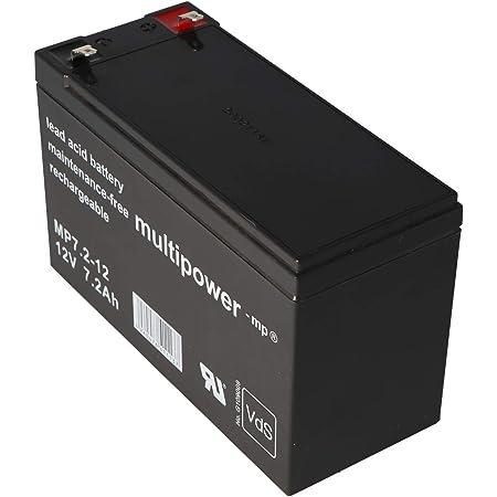 Multipower Mp7 2 12 Pb Bleiakku Blei Bleigel Vlies Akku Elektronik