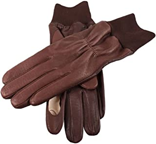Dents Mens Regal Right Hand Shooting Gloves - Brown