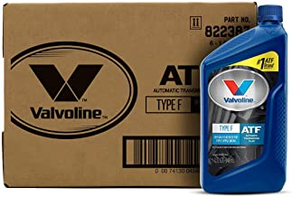 Best Valvoline Type F (ATF) Automatic Transmission Fluid 1 QT, Case of 6 Review