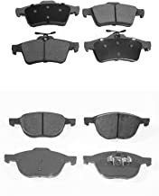 Prime Choice Auto Parts SCD1044-1095 8 Front and Rear Ceramic Disc Brake Pads