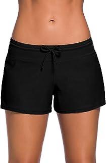 Wetopkim Women Swim Shorts Board Shorts Women's Swimwear Tankini Bottom