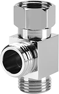 "G1/2 ""Messing 3 Manier T Vorm Adapter Toilet Bidet Sproeier Universele Douche Systeem Component Vervanging Deel Water Omle..."