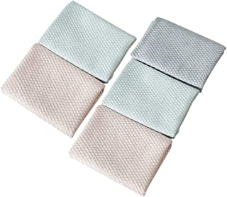 YARNOW 5PCS Glass Wiping Cloth Water Absorption Cloth Kitchen Cleaning Cloth for Cleans Glasses Screens Glasses Wiping Tow...