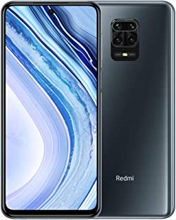 Xiaomi Redmi Note 9 Pro Smartphone, Dual SIM, 128GB, 6GB RAM - Interstellar Grey