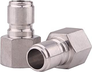 DERNORD Stainless Steel Female Quick Disconnect FPT 1/2
