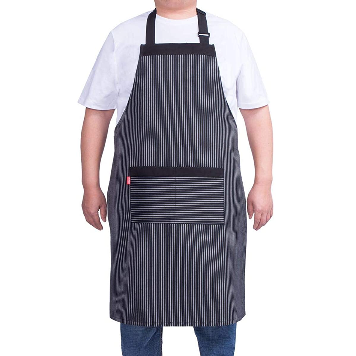 ALIPOBO Aprons for Women and Men, Kitchen Chef Apron with 2 Pockets and 40