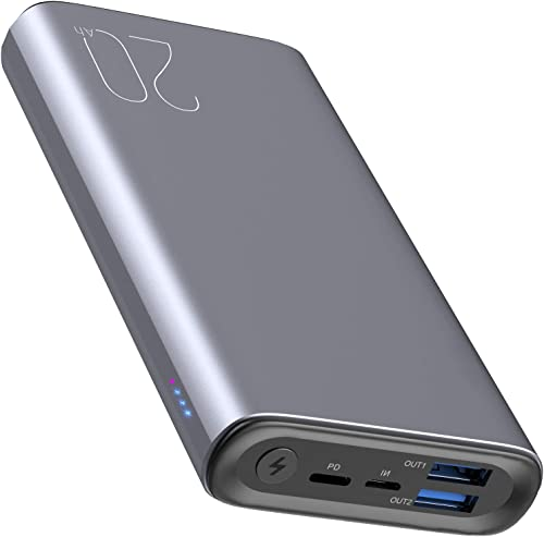 discount TOZO PB1 PD Portable Charger 20000mAh 2021 Capacity Fast Charging Power Bank 18W High Charging Speed External Battery online Pack with USB-C Input/Output Compatible for iPhone,Samsung,Gray online
