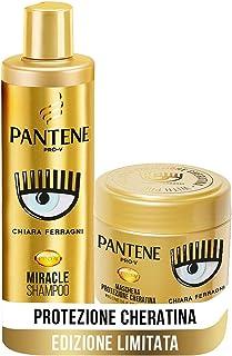 Pantene Pro-V by CHIARA FERRAGNI Miracle Shampoo Protezione Cheratina Rigenera e Protegge per Capelli Secchi, Opachi e Dan...