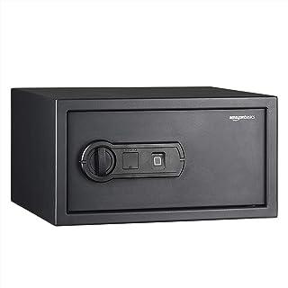 AmazonBasics Biometric Fingerprint Home Safe, 28 L