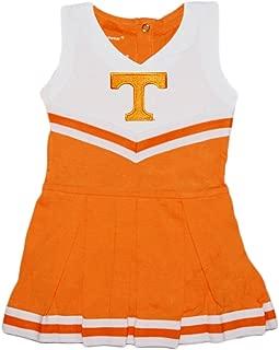 Creative Knitwear University of Tennessee UT Volunteers Baby and Toddler Cheerleader Bodysuit Dress