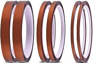 Bramacartuchos 55536 Pack de rollos de cinta t/érmica adhesiva