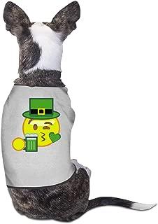 LeeRa St Patricks Day Emoji Dog Clothes