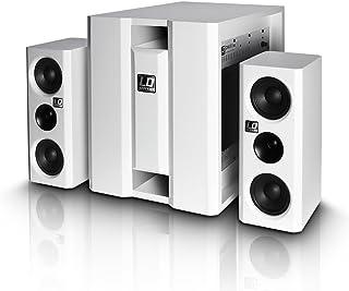 LD Systems LDDAVE8XSW - Equipo de altavoces, blanco
