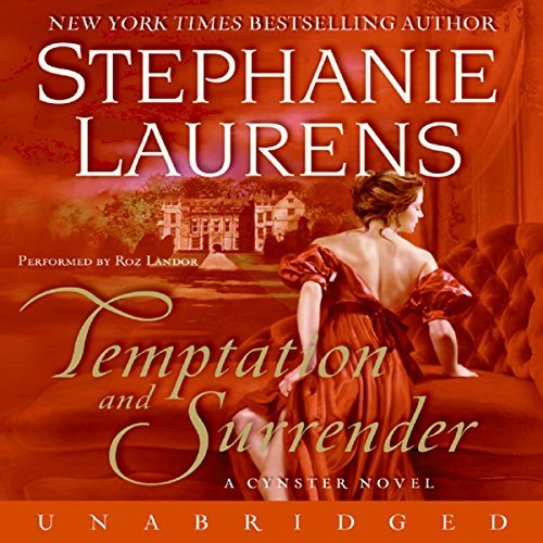 Temptation and Surrender audiobook cover art