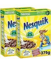 Nesquik Nestle Chocolate Breakfast Cereal, 375 gm