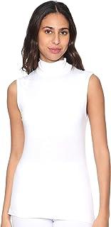 Carina Sleeveless High-Neck Solid Undershirt for Women