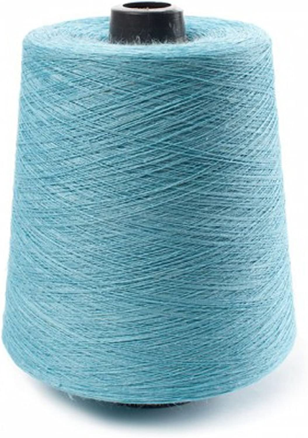 Linen Fashion  PURE LINEN YARNS IN LIGHT TURQUOISE COLOUR (TWISTED BY 2 YARNS)