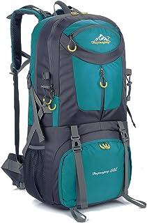 SUGOIDAN Hiking Backpack Waterproof Travel Fishing Climbing Camping 60L Hiking Daypack