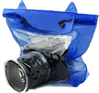 Universal Waterproof Camera Case DSLR SLR Camera Underwater Storage Dry Bag Transparent PVC Pouch
