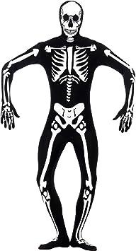 Halloween Kostuem Skelett Amazon.Net Toys Second Skin Halloween Nachleuchtend Skelett Kostum Herren M 48 50 Skelettkostum Halloweenkostum Horrorkostum Skelettanzug Amazon De Spielzeug