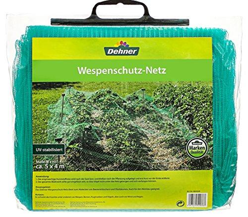 Dehner 4023529 Wespe Filet de Protection, Plastique, Vert, 37 x 31 x 10 cm