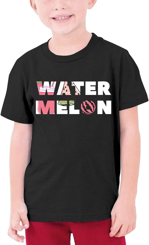 Watermelon Pattern Boys Girls Tshirts Short Sleeve Cotton T-Shirt Youth Tees Tops